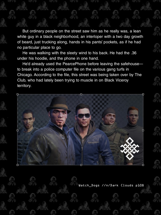 Watch Dogs Dark Clouds Interactive Ebook screenshot-4