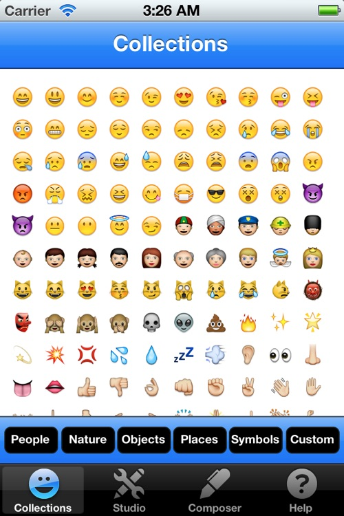 Emoji Studio - Create your own emojis screenshot-0