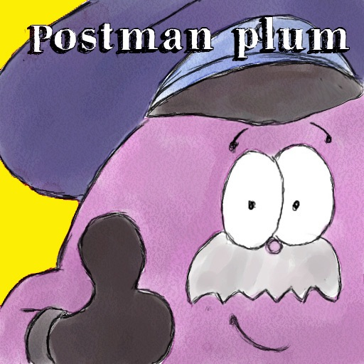 Postman Plum Interactive Kids Book