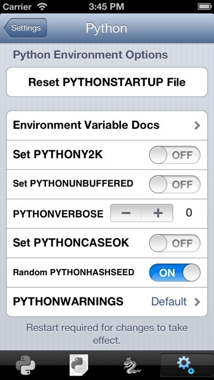 Python 2.7 for iOS screenshot-4