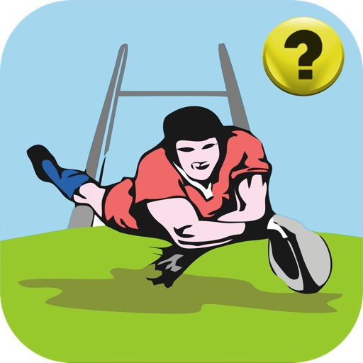 Rugby Union Quiz - Top Fun Shirt Trivia Game. icon