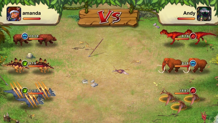 Dinosaur War: Happy Easter! screenshot-3