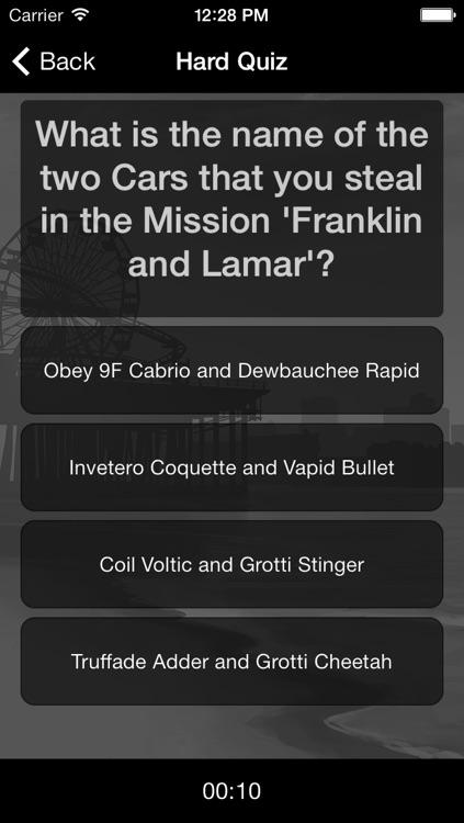 Ultimate Quiz for GTA 5 screenshot-3