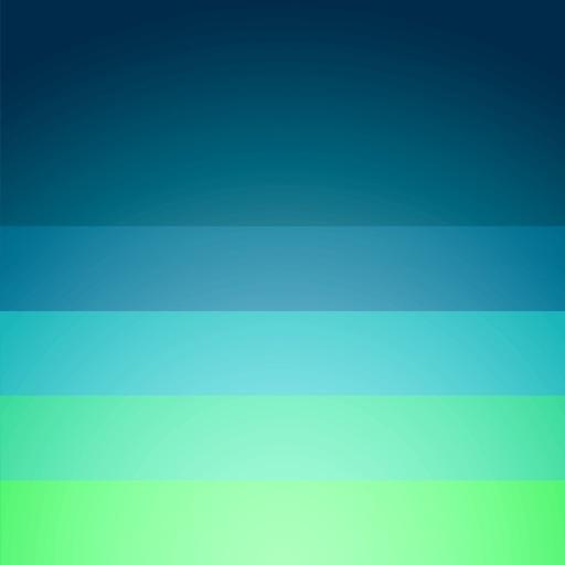 Blue - Beautifully minimal weather forecast