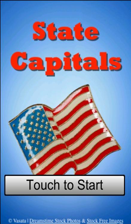 US State Capitals Quiz