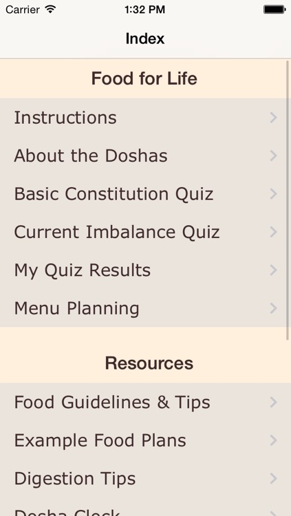 Dosha Diet - Ayurveda Food Planner screenshot-0