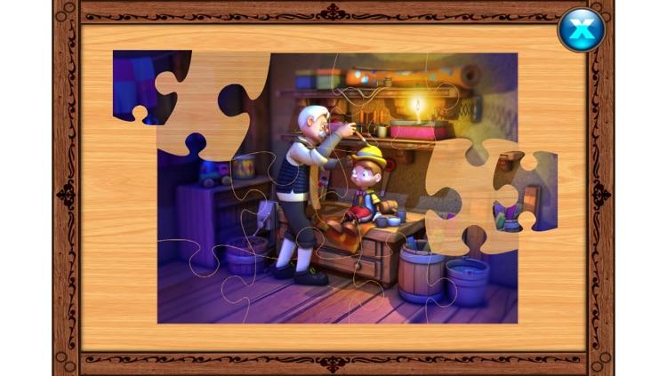 Pinocchio - Book - Cards Match Game - Jigsaw Puzzle screenshot-3