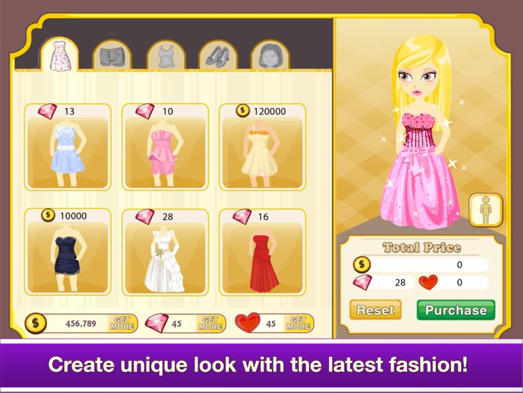 Tap Boutique for iPad - Girl Shopping Covet Fashion Story Game screenshot-2