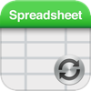 Spreadsheet touch Sync: Simple spreadsheets - compatible with Dropbox - B TO J PTY LTD Cover Art