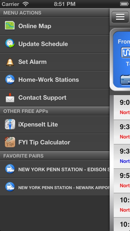 onTime : NJT FREE (NJ Transit) screenshot-0