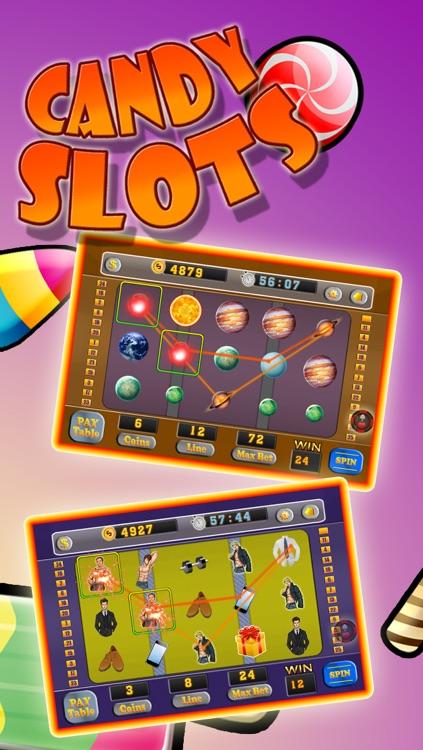 Candy Slots - Sweet Jackpot Rush Slot Machine screenshot-3