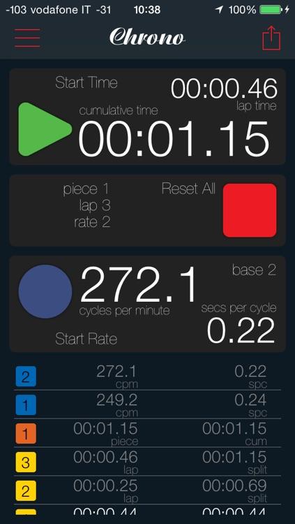 StrokeRate Chrono screenshot-4
