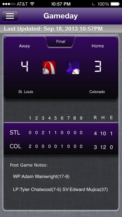 Colorado Baseball Live screenshot-0