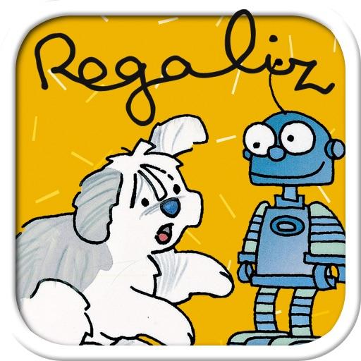 Regaliz y Robotino