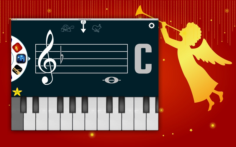 Christmas Star Piano! - Learn To Read Music | App Price Drops