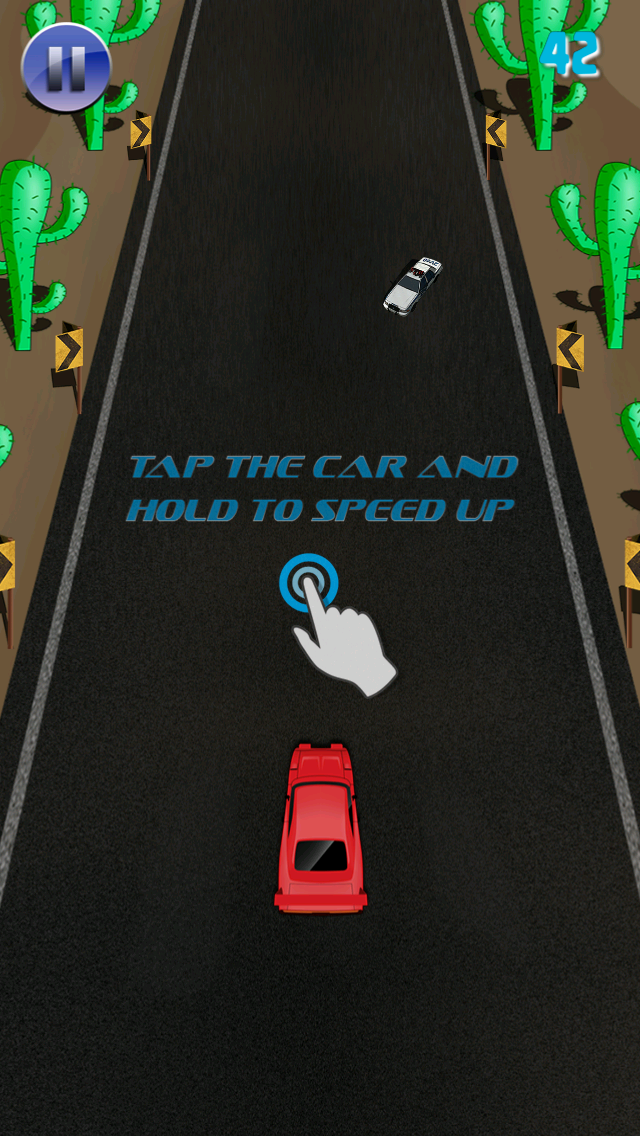 Fast Nitros Race - Free Kids Racing Game screenshot one