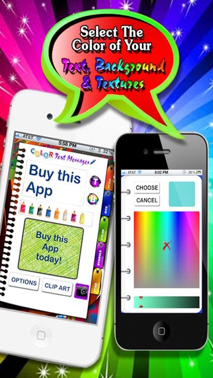 Color Text Messages screenshot-3