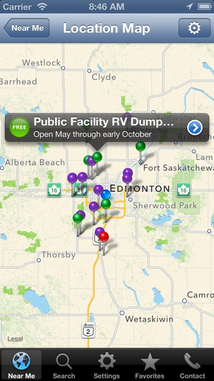 Sanidumps RV Dump Station Locator