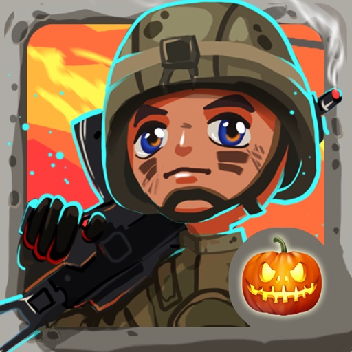 Toy Patrol: 3rd person shooter. Tiny commando with machine gun shoots stupid zombies iOS App
