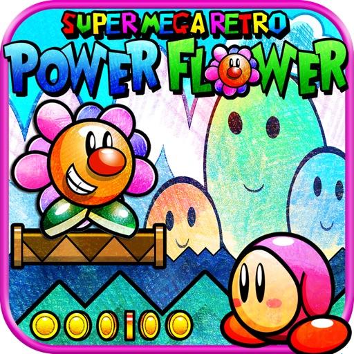 Super Mega Retro Power Flower!