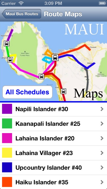 Maui Bus Routes screenshot-1
