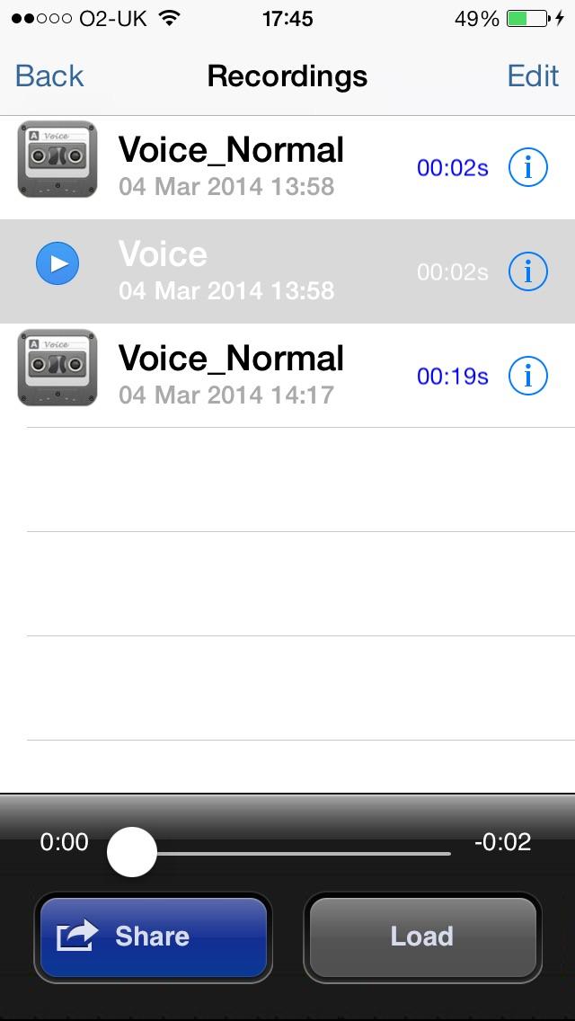 Voice Changer screenshot four