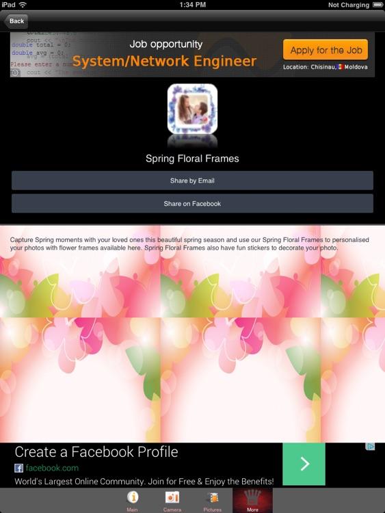 Spring Floral Frames screenshot-3