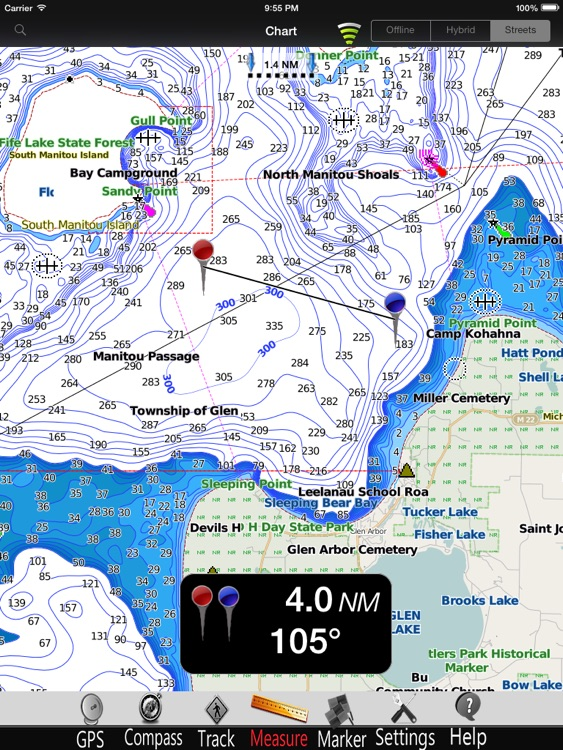 Michigan Nautical Charts Pro