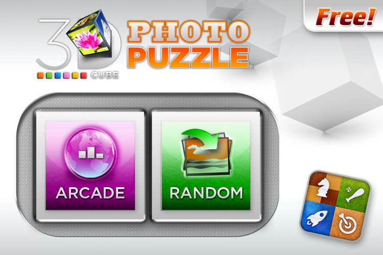 3D Cube Photo Puzzle screenshot-0