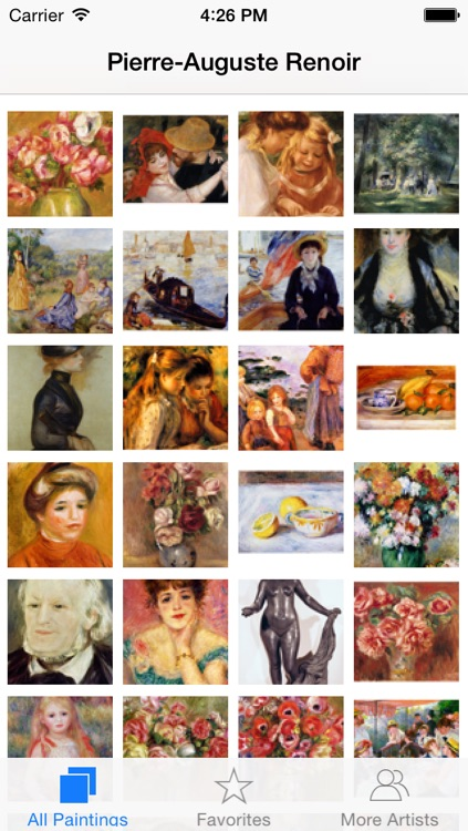 Renoir 237 Paintings HD 300M+ Ad-free