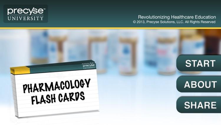 Pharmacology Flash Cards - Precyse University