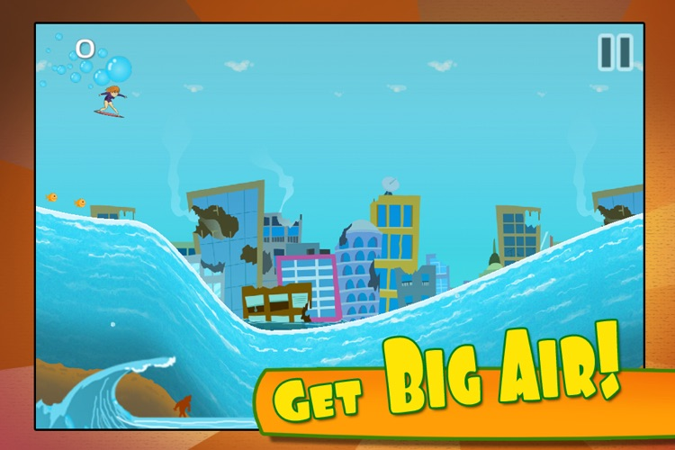 Monster Wave: Death Crush Race  – Free Surf Racing Game for Kids screenshot-4