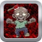 Zombie Sang Derrière la caisse en bois - rapide jeu du robinet gratuit icon