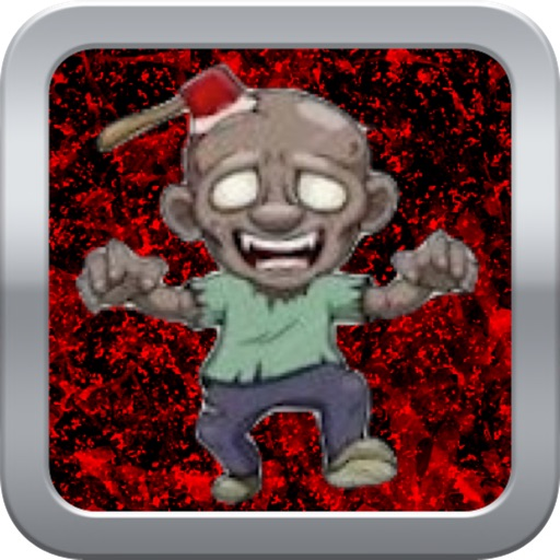 Bloody Zombie Behind Wooden Crate - Quick Tap Free icon