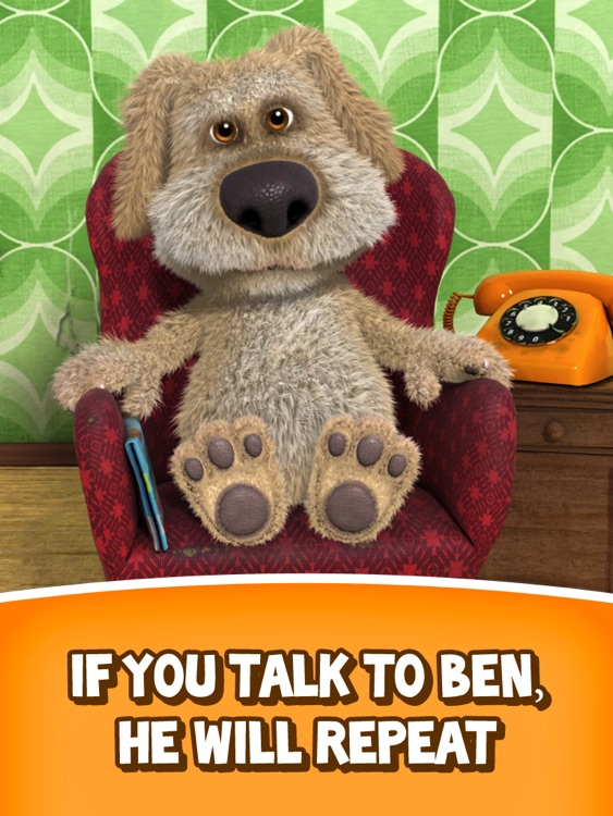 Talking Ben the Dog for iPad screenshot-0