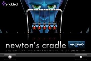 Newton's Cradle Classic Megamind Edition screenshot three