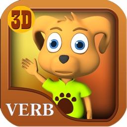 Verbos para niños-Parte 1-Aprendizaje de lenguaje español gratis- Animated Spanish language verbs for children