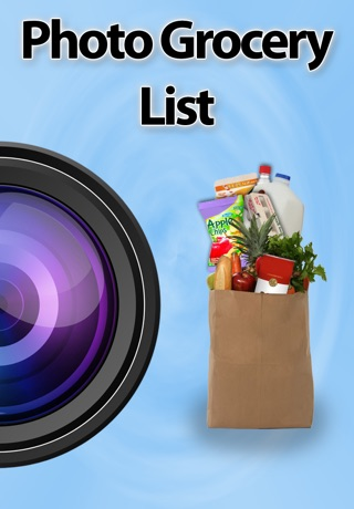 Photo Grocery List app image