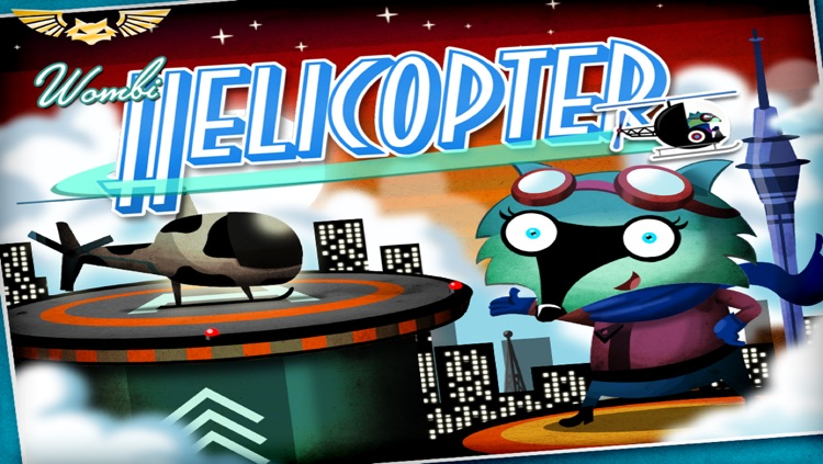 Wombi Helicopter - build your own helicopter and fly it screenshot-4