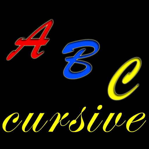 abc cursive writing