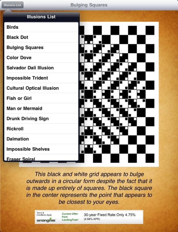 Optical Illusions! iPad Edition screenshot-4