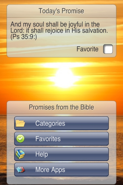 Promises from the Bible screenshot-0