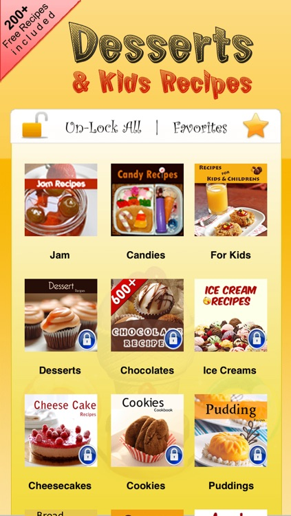 Dessert & Kids Recipes