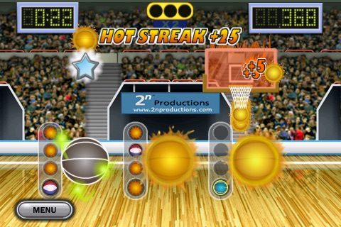 Hoops Madness Lite screenshot-0