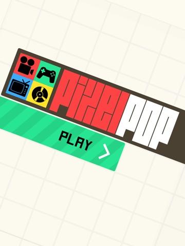 Игра Pixel Pop - Гадание игру музыки, икон, фильмов и брендов