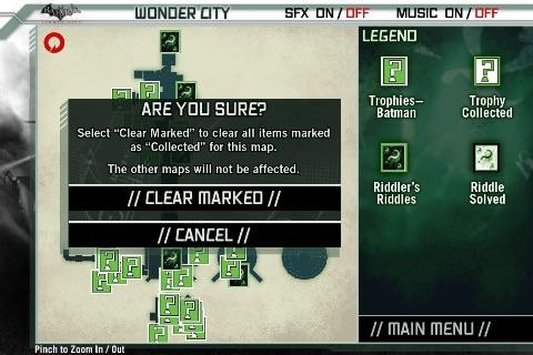 Batman Arkham City Official Map App screenshot-4