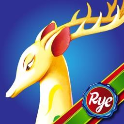 RyeBooks: The Colorful Deer -by Rye Studio™