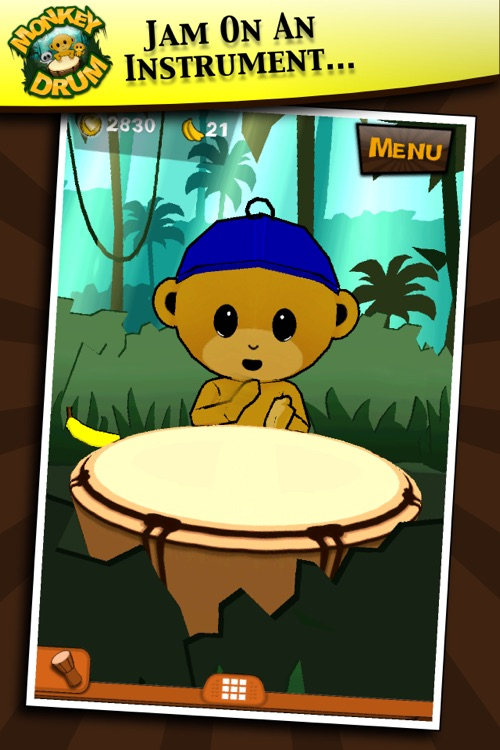 Monkey Drum screenshot-0