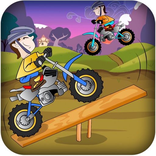 Bmx Dirt Biker See Saw Jump - Bike Jumper Flying For Coin Pro