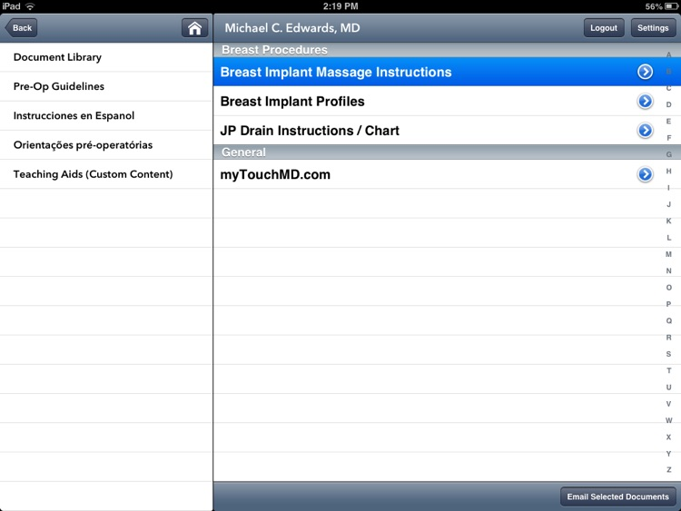 TouchMD screenshot-4
